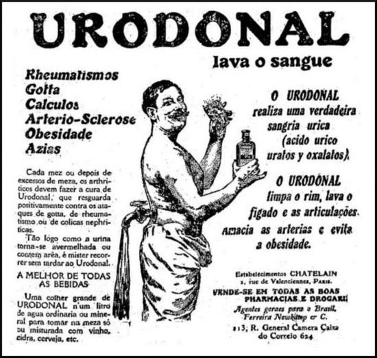 Publicidade deUrodonalno Estadão de 16/9/1918