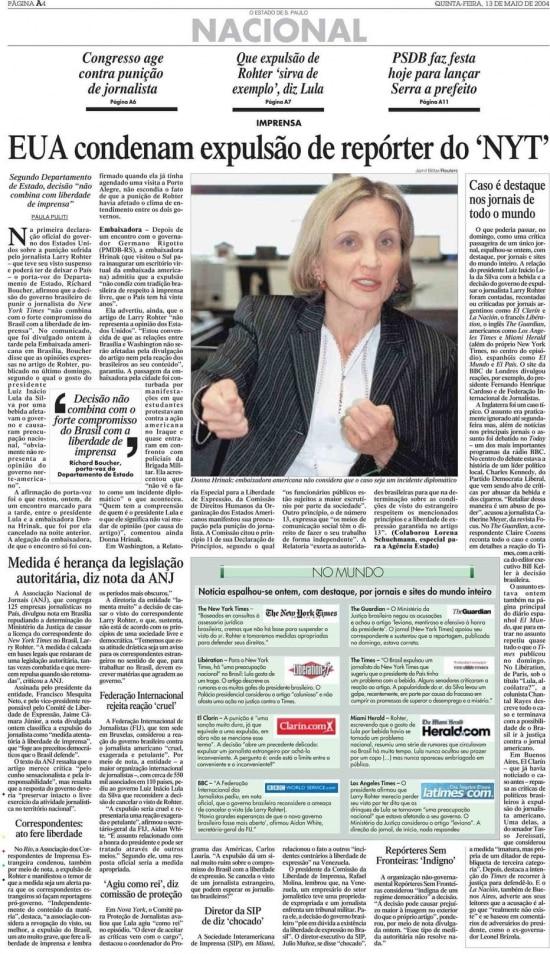 Jornal de13/5/2004.