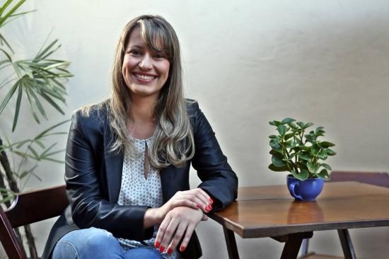 Tatiana Pimenta, sócia-fundadora da Vittude, investe em mercado B2B. Foto: Hélvio Romero/Estadão