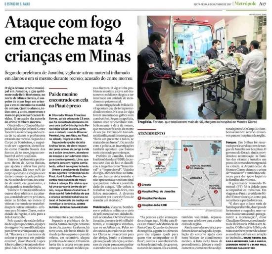 O Estado de S.Paulo - 06/10/2017