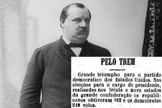 Eleição: 1884/ Partido: Democrata