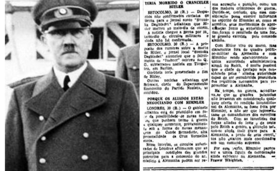 Adolf Hitler em 1939. Reprodução