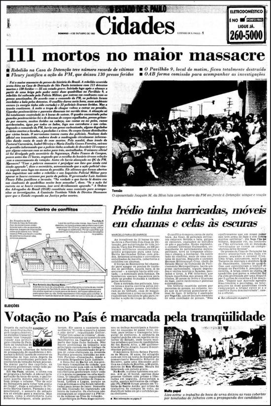 O Estado de S.Paulo- 04/10/1992