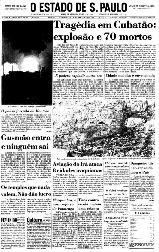 O Estado de S.Paulo - 26/2/1984