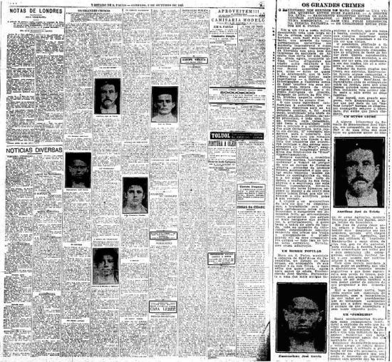A história da guerra entre famílias do Mato Grosso do Sulfoi publicada em 2/10/1920