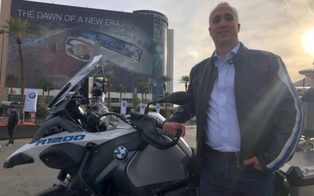 Motocicleta autônoma da BMW