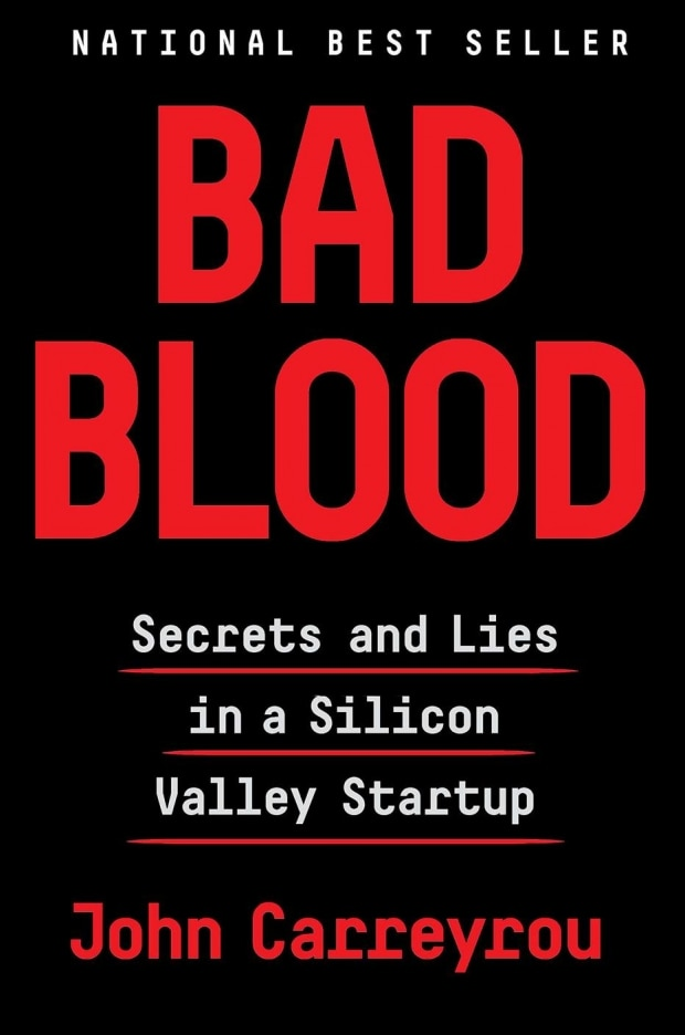 Bad Blood, de John Carreyrou