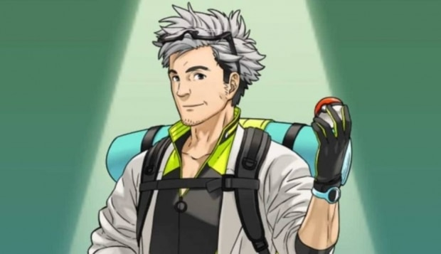 Envie pokémons para o professor