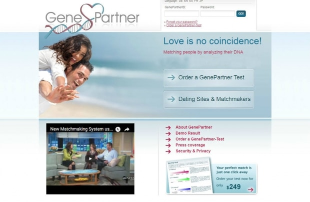 Genes apaixonados