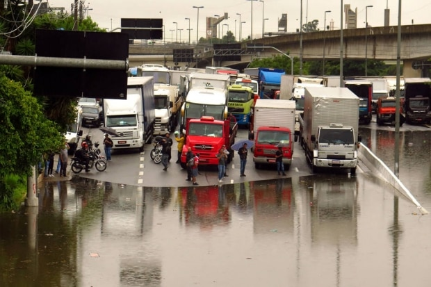 Alagamento em São Paulo