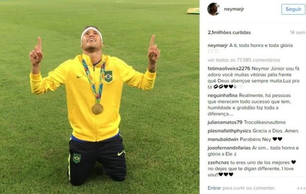 1 - Neymar