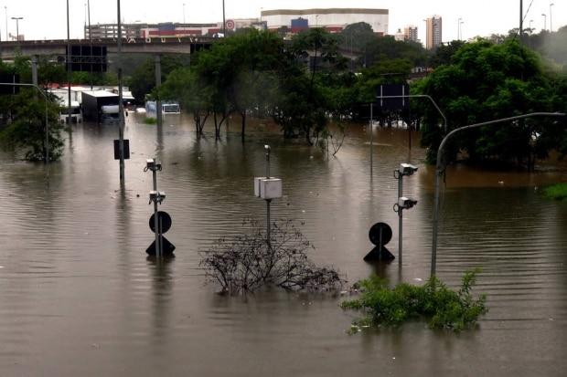 Alagamentos em São Paulo