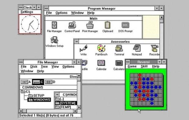 Windows 3.x (1990)