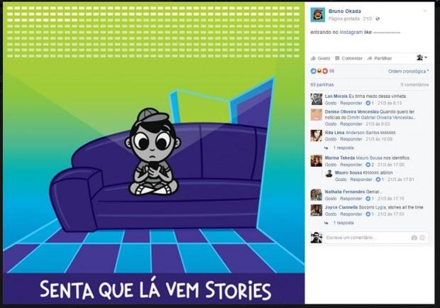 Senta Que Lá Vem Stories
