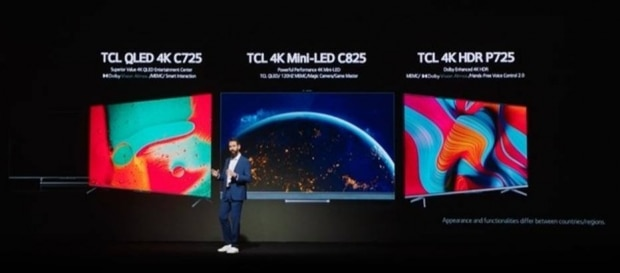 TV TCL 4K HDR P725