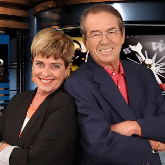 Leila e Eliakim foram o primeiro casal de apresentadores da TV brasileira