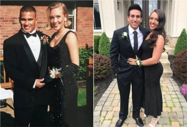 Ally Johson, formanda do ensino médio, usou o mesmo vestido de formatura que sua mãe, Lari Johnson,vestiu há 22 anos.