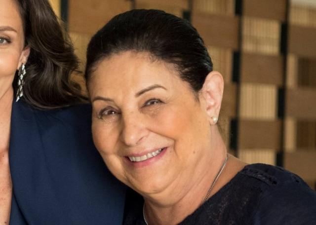 A atriz Claudia Mello