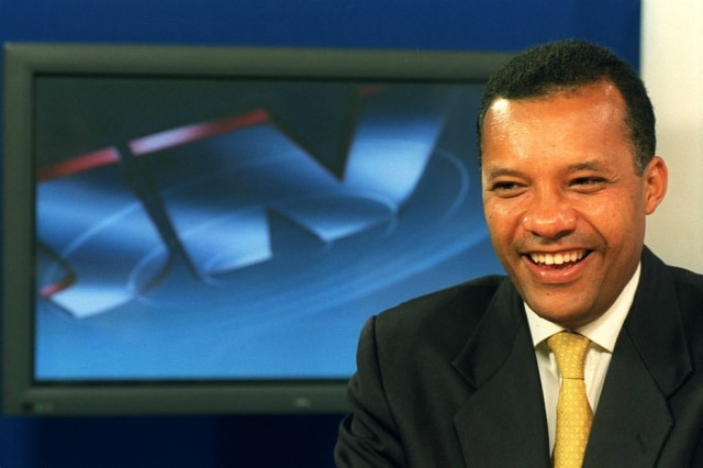 Heraldo Pereira em foto de novembro de 2002. À época, o jornalista se tornaria o 1º negro a apresentar o 'Jornal Nacional'.