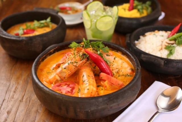 Moqueca de caramão do restaurantes Badauê.