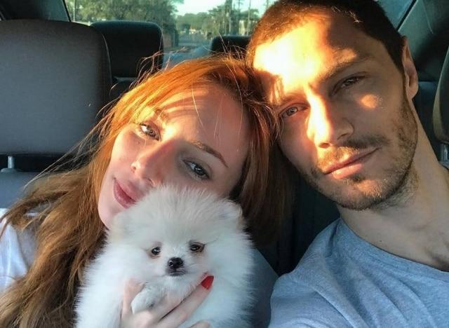 Maria Eugênia Suconic e André Bankoff estão juntos desde agosto de 2016