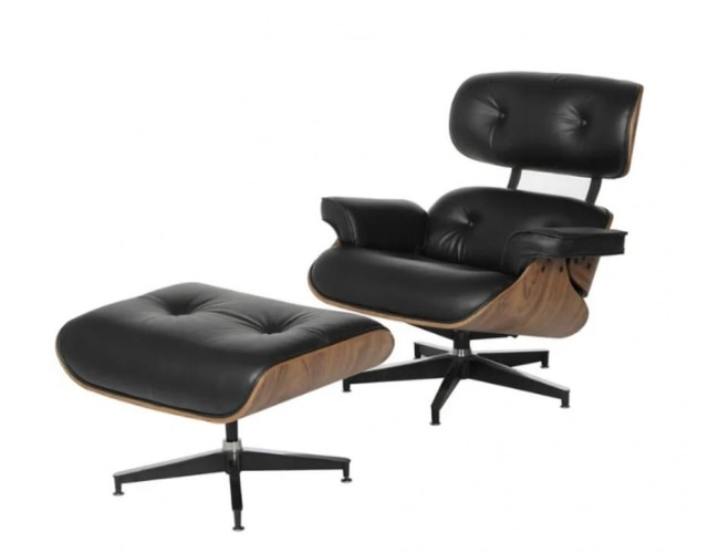AEames Lounge Chair, de Ray Eames.