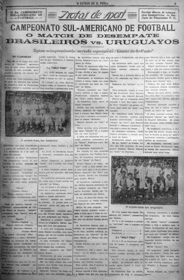Campeonato Sul-Americano de Futebol de 1919 no Estadinho