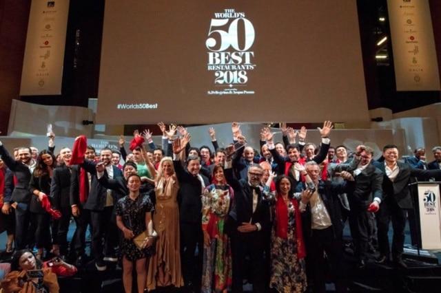 Todos os vencedores do 50 Best 2018.