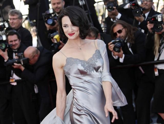 A atriz italiana Asia Argento é acusada de ter abusado de ator menor de idade