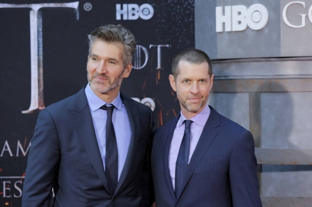 David Benioff e D.B. Weiss, produtores de 'Game of Thrones'.