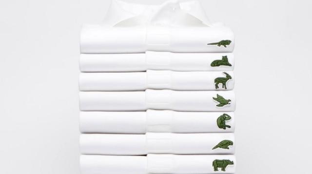 São 10 animais homenageados nas camisetas