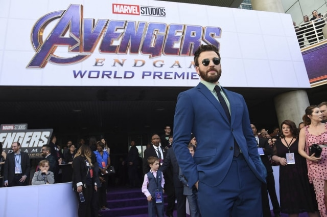 Chris Evans na premiere de 'Vinagdores: Ultimato', em Los Angeles.