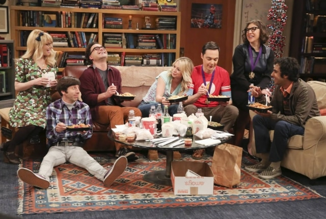 Cena da 12ª temporada de 'The Big Bang Theory'.