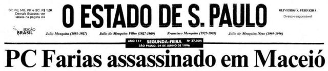 >> Estadão - 24/6/1996