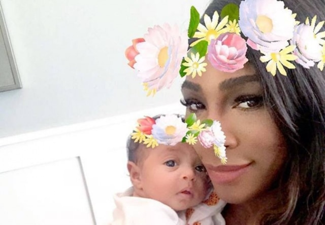 Serena contou sobre as dificuldades da maternidade para a publicação