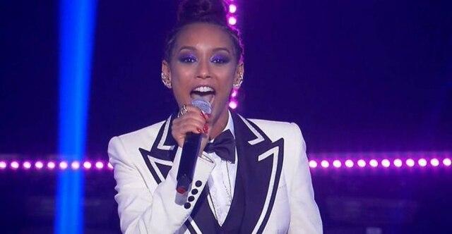 A atriz Taís Araújo comanda o reality show Popstar, da TV Globo.