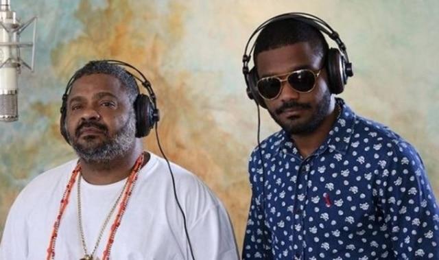 Os músicos Arlindo Cruz e Arlindinho.