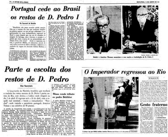 > Estadão -13/8/1971,19/3/1972e23/4/1972