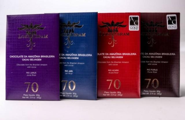 Barras de chocolate de Luisa Abram