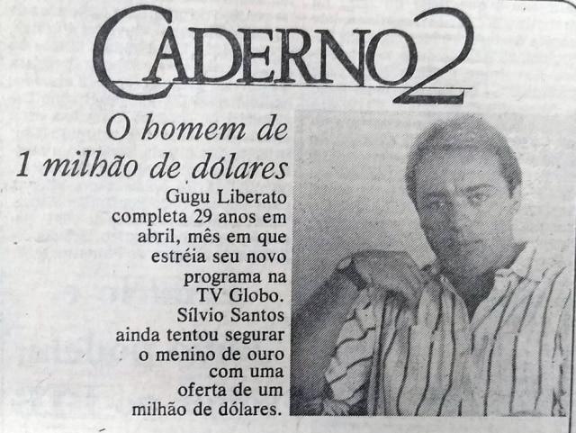 O Estado de S.Paulo - 24/01/1988clique aqui para ver a matéria