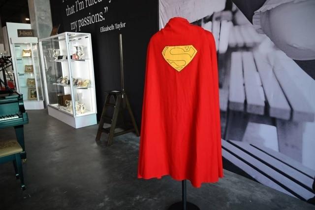 Capa foi usada pelo ator Christopher Reeve no file 'Superman', de 1978