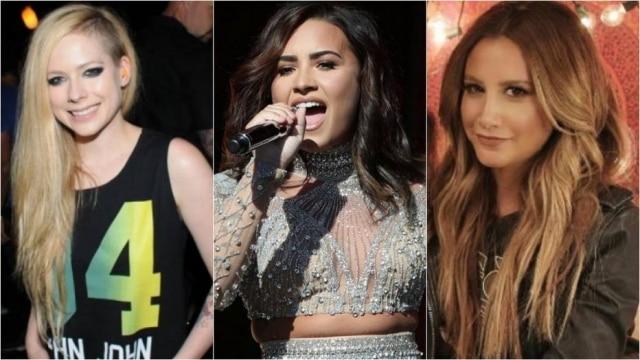 Avril, Demi e Ashley ainda fizeram música juntas para trilha sonora