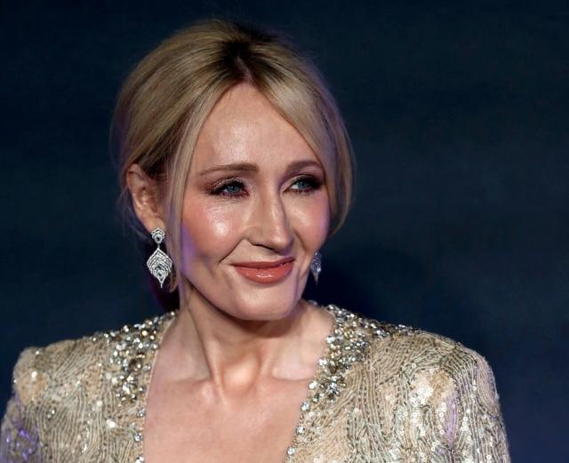 A escritora dos livros de Harry Potter, J. K. Rowling