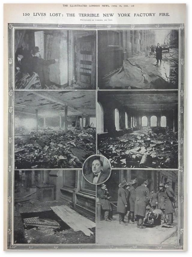 Reportagem sobre o incêndio ocorrido em 25/3/1911.