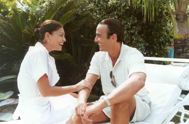 Juliana Paes (Ritinha) e Alexandre Borges (Danilo) em cena de 'Laços de Família'