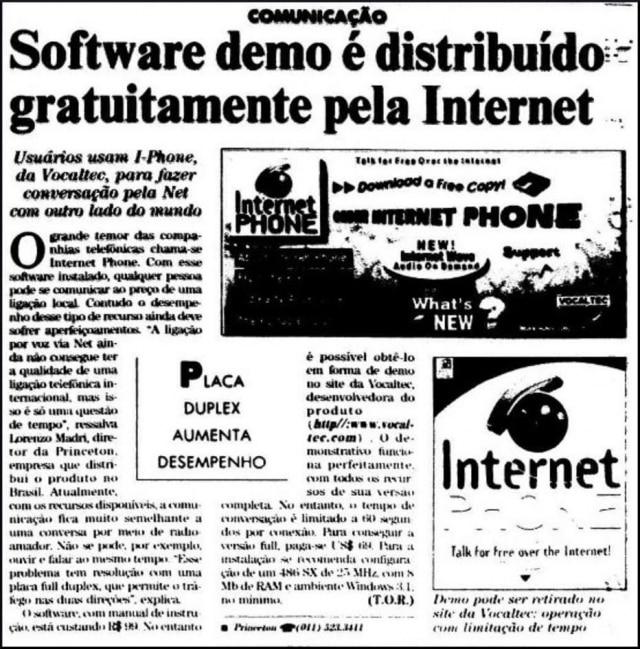 O Estado de S.Paulo - 13/11/1995