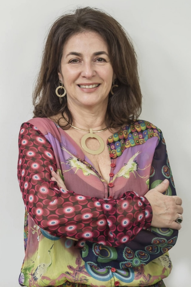 A consultora de estilo, Virgínia Lamarco