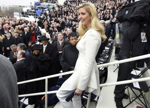 Ivanka Trump é uma das principais conselheiras do governo Trump