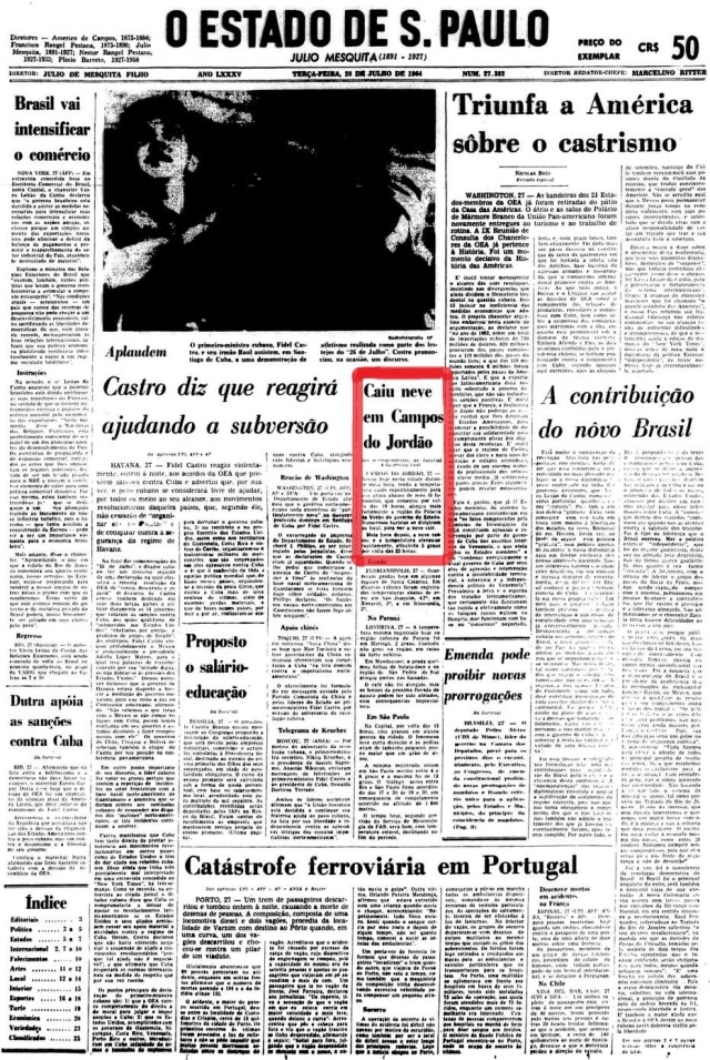 >Estadão - 28/7/1964
