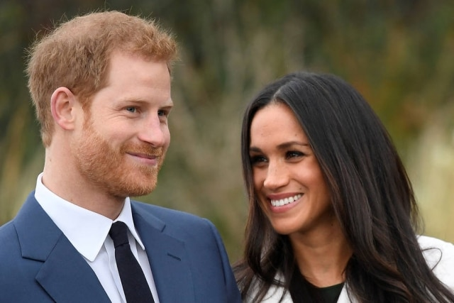 Príncipe Harry e Meghan Markle.